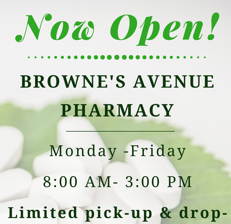 Now Open: Browne's Avenue Pharmacy